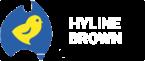 HB Logo small white