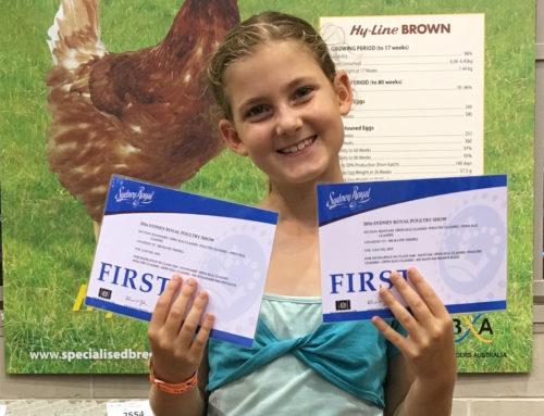 Katie Tisdell    National Egg Champion